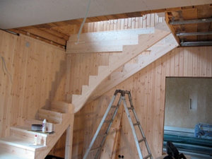 How to build a staircase to the second floor video  How to make